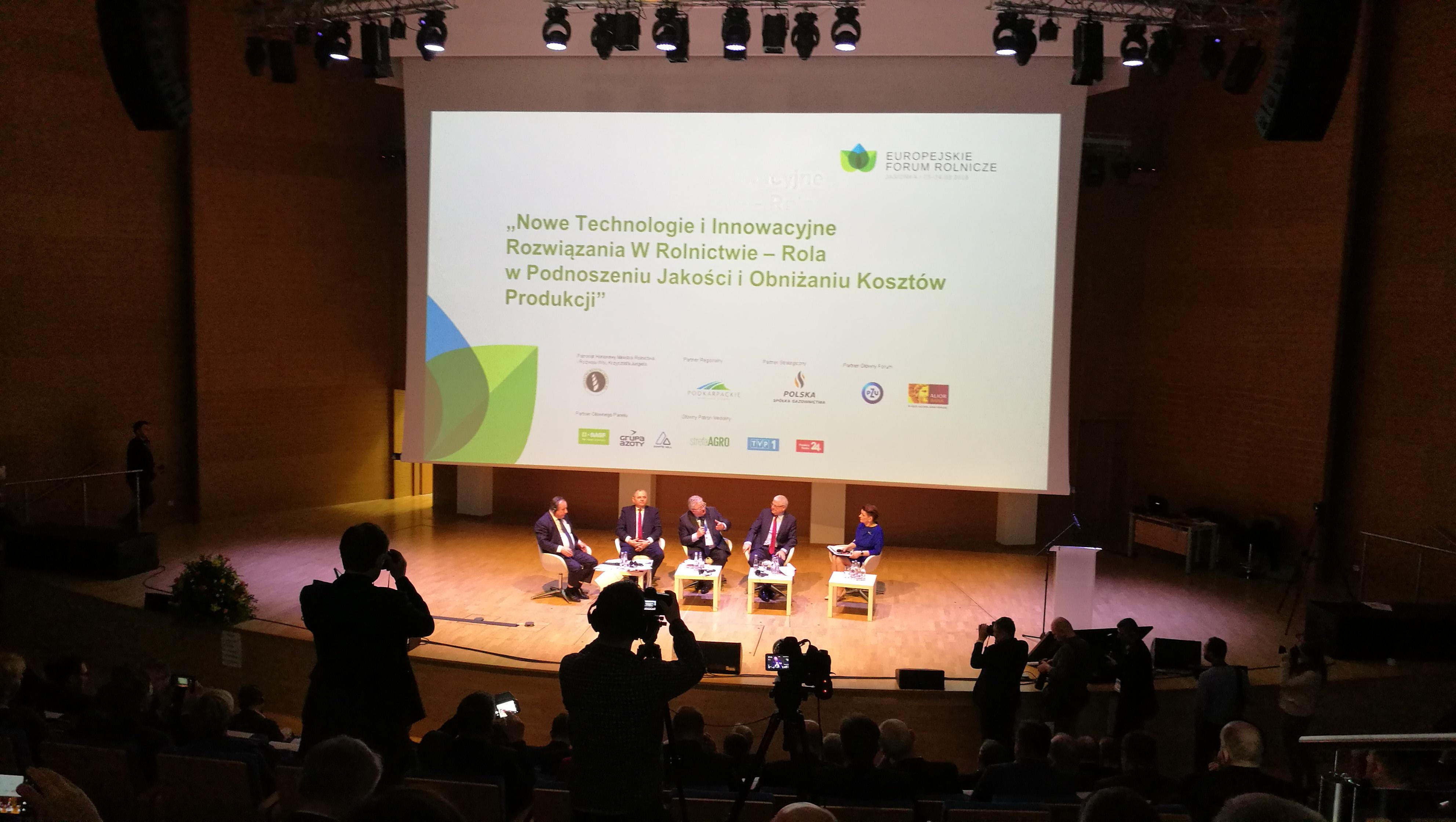 Europejskie Forum Rolnicze w Jasionce 23-24 marca 2018 r.