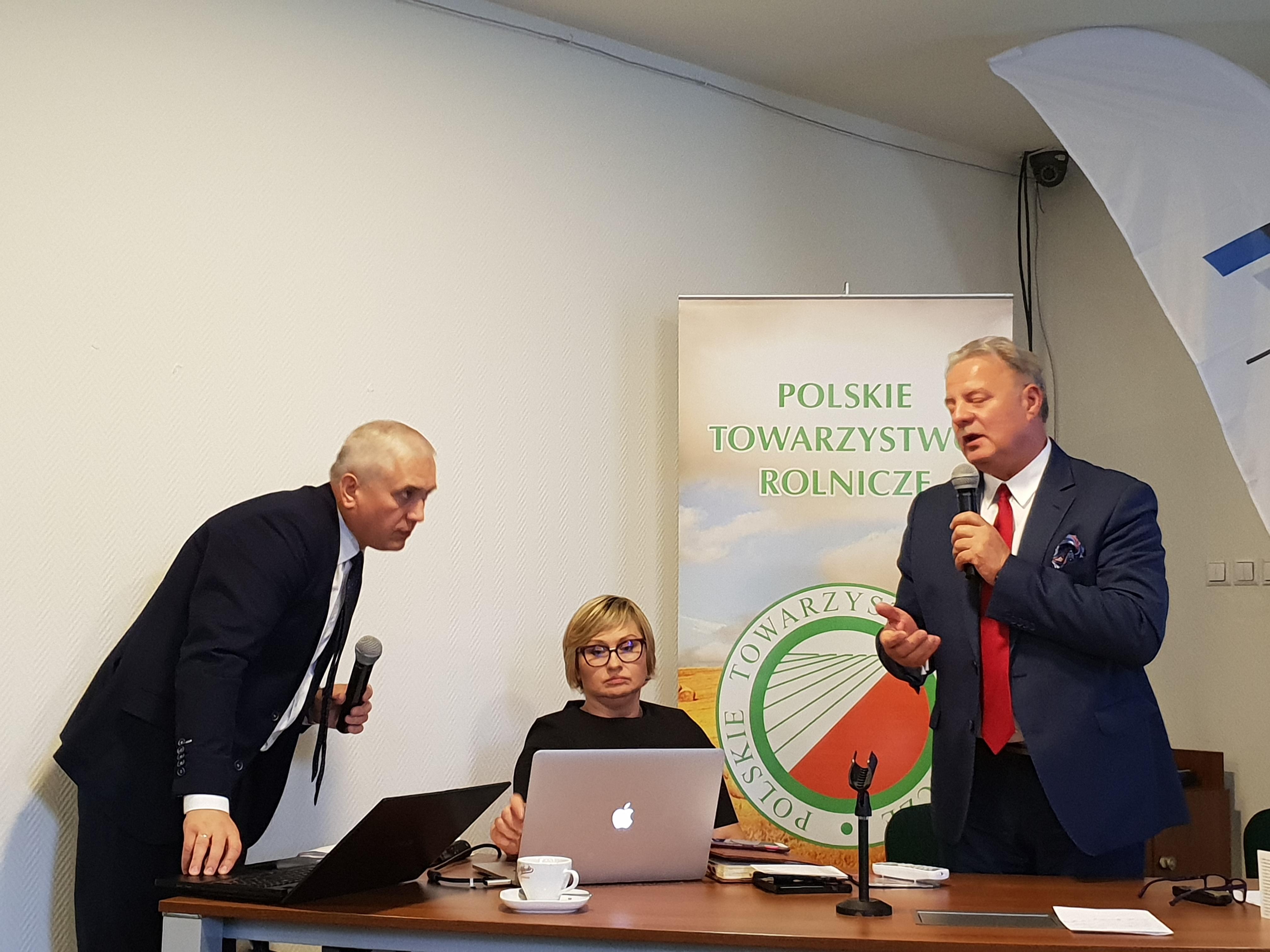 Walne zebranie Polskiego Towarzystwa Rolniczego