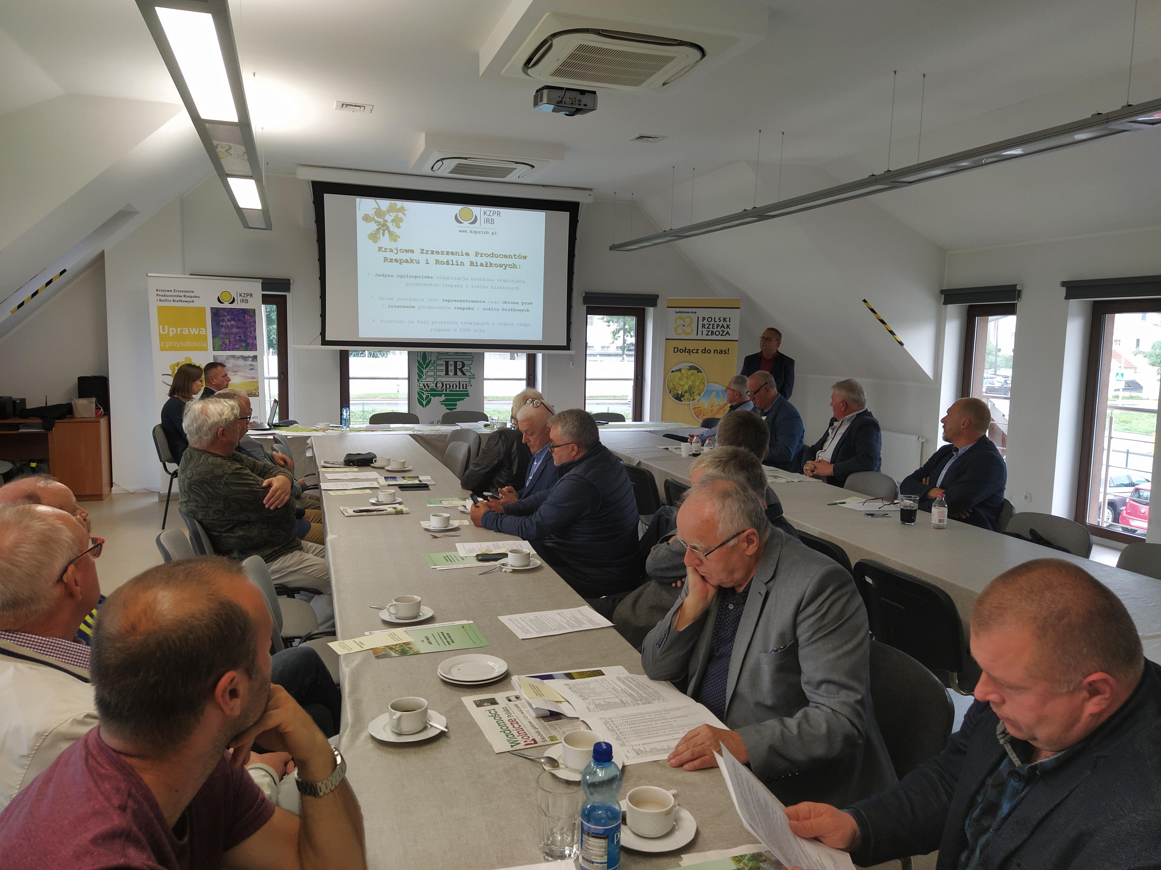 Walne Zebranie Sprawozdawczo Wyborcze przedstawicieli Okręgowego Zrzeszenia Producentów Rzepaku