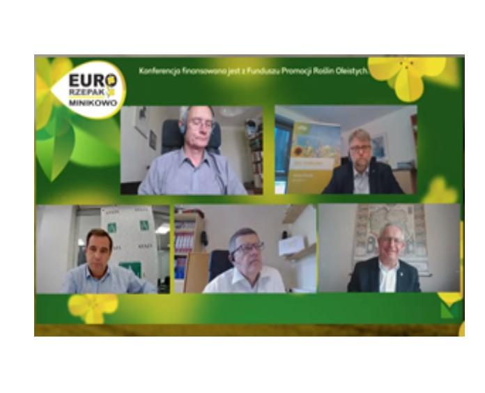 """Konferencja """"Uprawa rzepaku a Europejski Zielony Ład"""""""